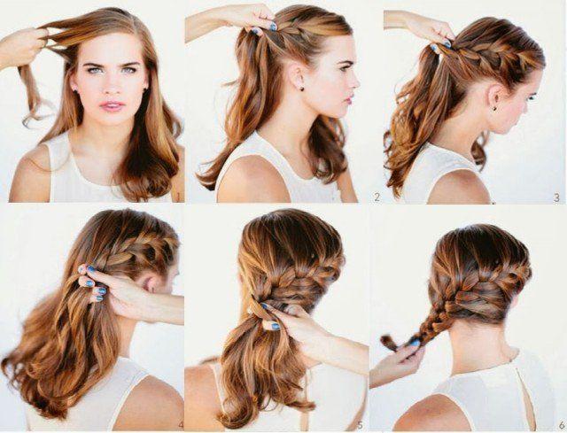 14 Pretty Hairstyle Tutorials For 2015 15 Side Braid