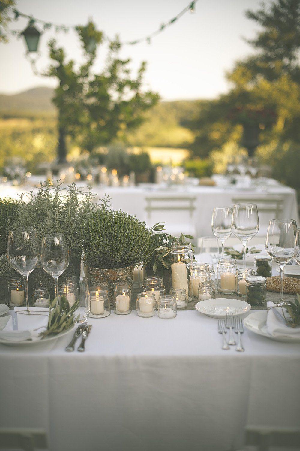 The Perfect Romantic Italian Garden Dinner Party