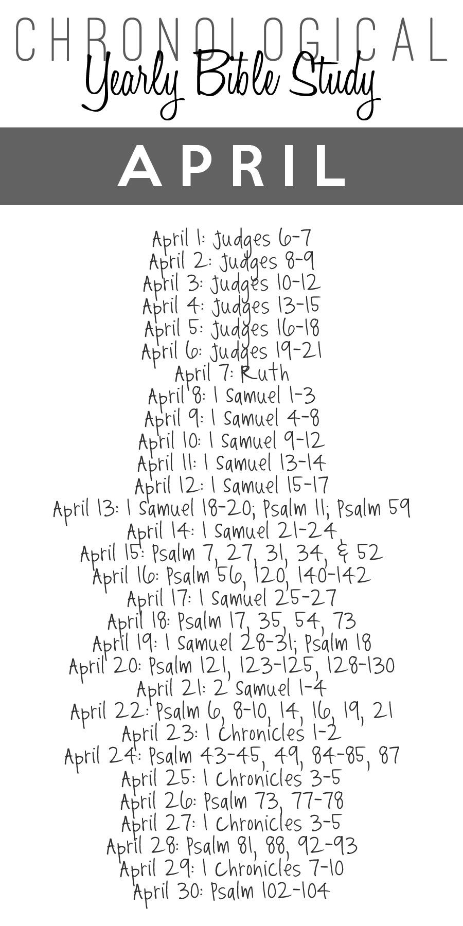 2014 Yearly Bible Study Guide