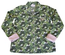 Martinique Banana Leaf Women' Pajama Shirt Exclusively