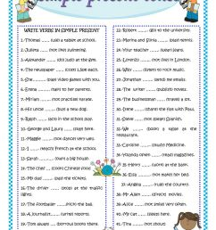 Simple Past Tense Worksheets For Grade 3 [ 1440 x 1018 Pixel ]