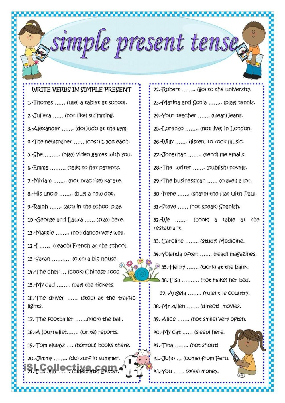 medium resolution of Simple Past Tense Worksheets For Grade 3