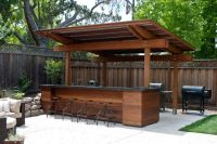 20+ Creative Patio / Outdoor Bar Ideas You Must Try at
