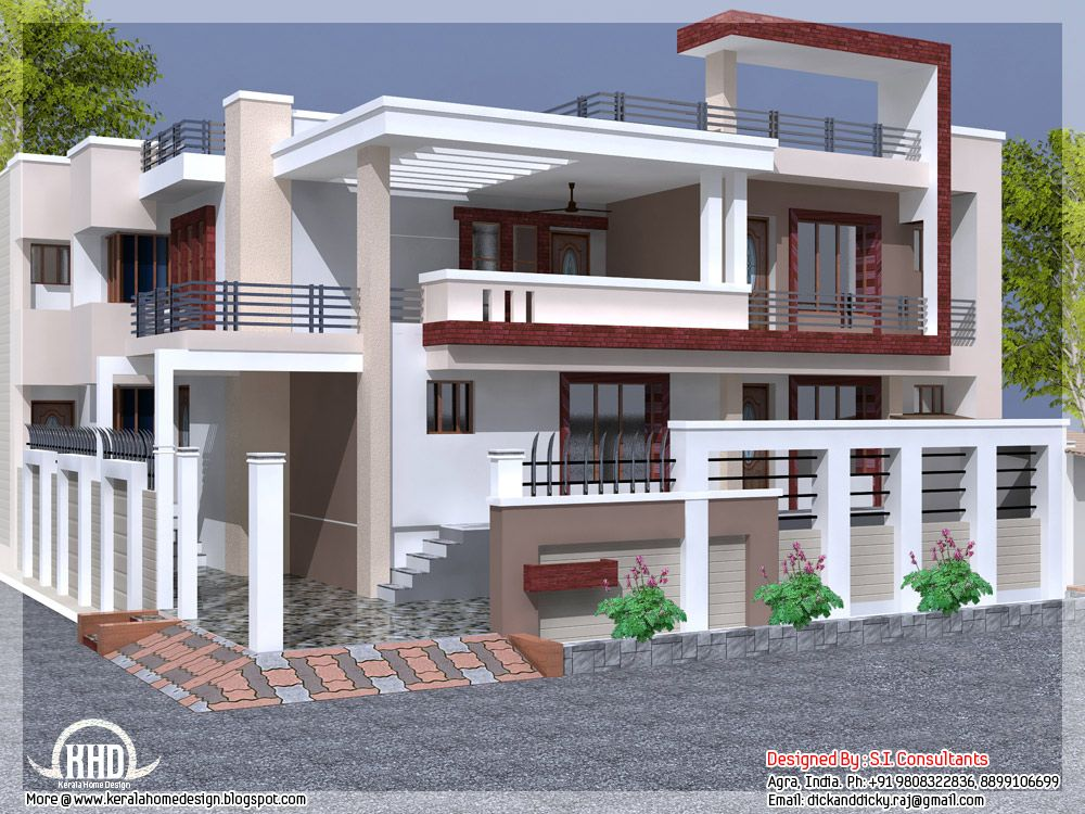 Hillside House Design In Kerala Home Design In India Dream Houses