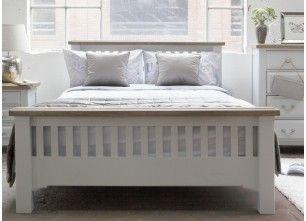 Super King Size 6 Ft Grey Oak Bed Frame Georgia Ez Living
