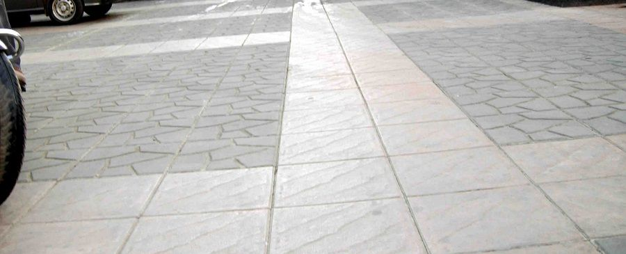 Parking Tiles the Best Way to Engrave the Look of the