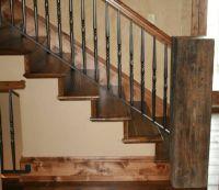reclaimed wood railings