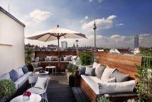 Roof Top Garden Amano Hotel Berlin Outdoor - Balcony
