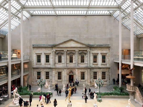Sculpture Garden Metropolitan Museum Of Art