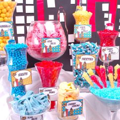 Angel Chair Covers Bobby Knight Throwing Super Hero Candy Buffet   Superhero Party & Ideas Pinterest Buffet, And ...