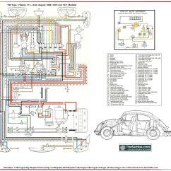 Wiring Diagram For Vw Beach Buggy Two Switch Light Circuit Elétrica Ar: Esquema Elétrico Fusca 70 E 71. | Pinterest Fusca, Fuscas Mecânica