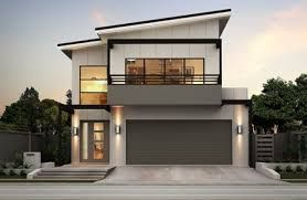 Image Result For Narrow Block House Designs Brisbane Ideas For