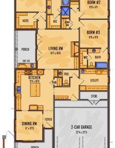 Floor plan aflfpw story home design with brs and baths floorplans pinterest hogar cuarto de bano  garaje also rh ar
