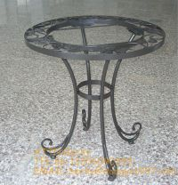 Round Wrought Iron Coffee Table Legs, View metal coffee ...