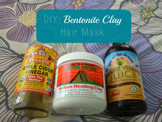 Diy bentonite clay hair mask bentonite and hair masks