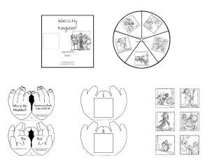 Who is My Neighbor? is 2 printables that I made for my RE