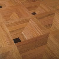 3D Illusion; Solid Wood Floor Tile. http://www.archiexpo ...