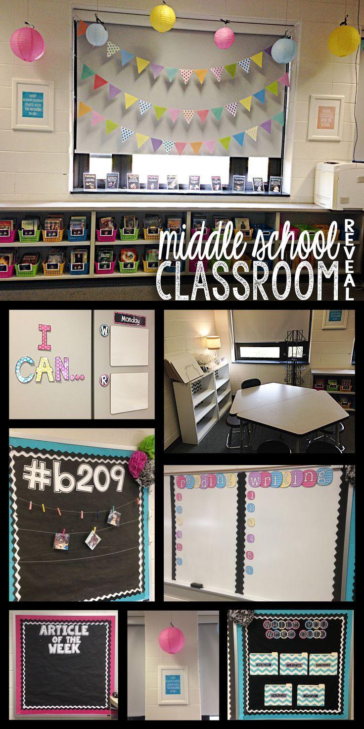 Middle School Math Classroom Decorating Ideas Elitflat