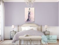 Peaceful Bedroom Benjamin Moore Lavender Mist | Bedrooms ...