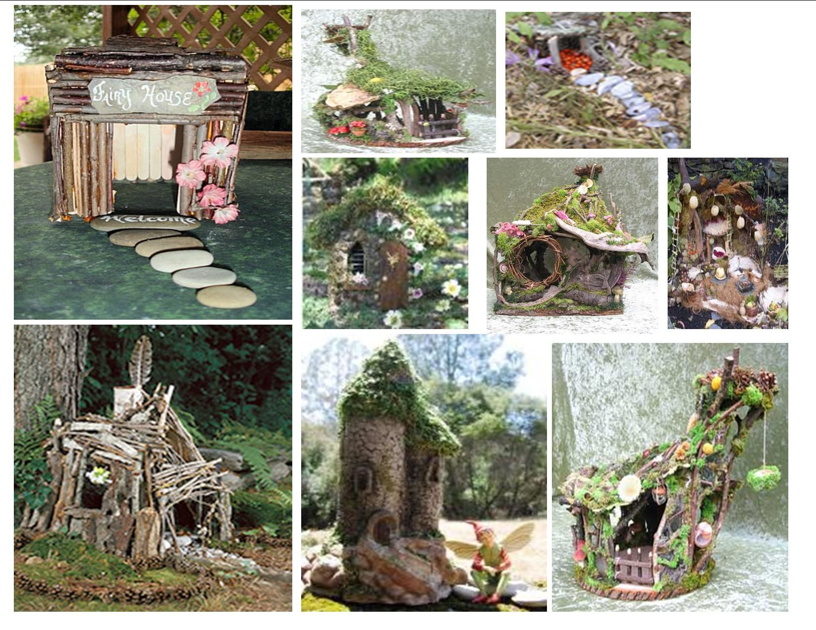 Fairy Craft Make A Fairy House Gardens Examples And Garden Crafts