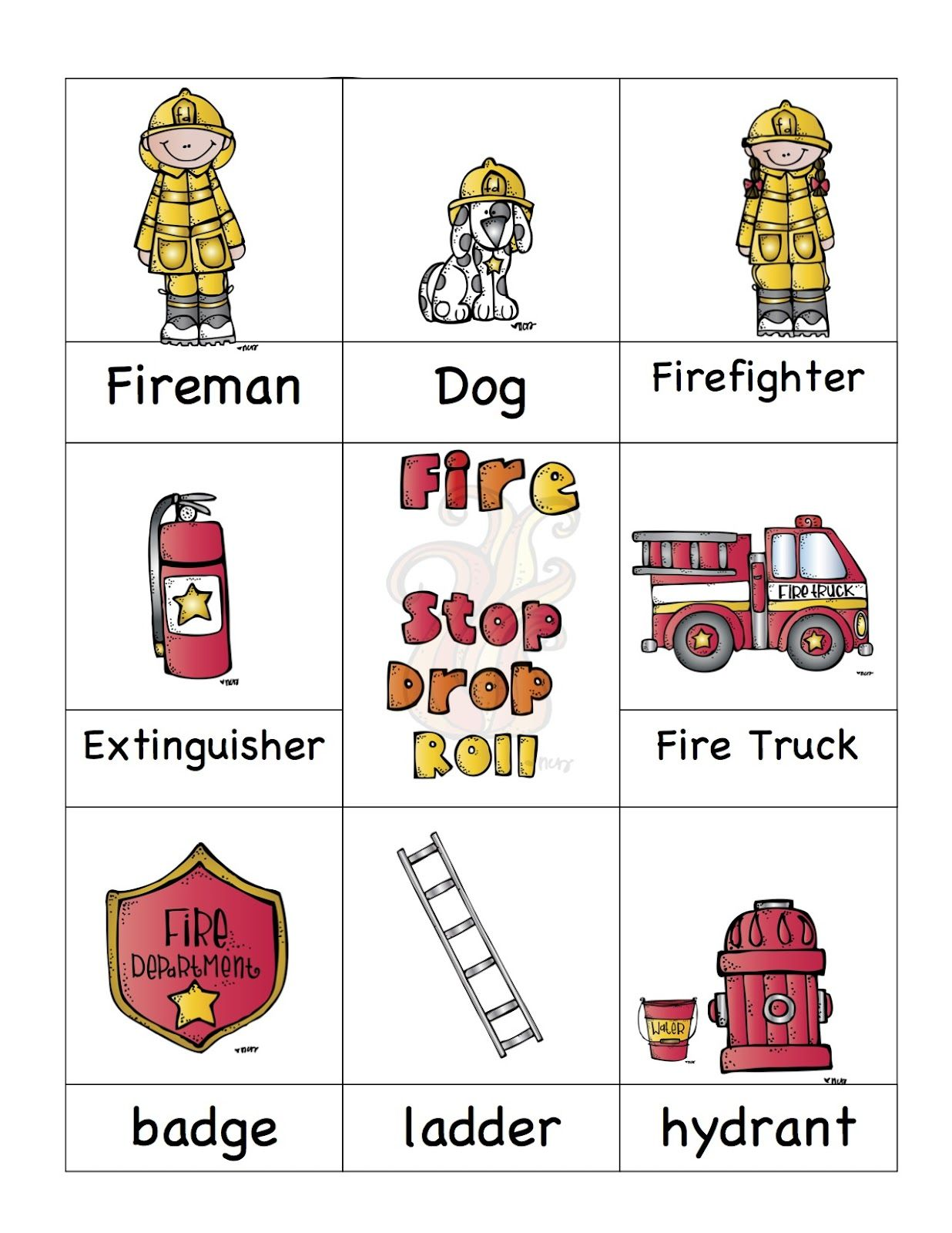Fire Safety Printable Also Has Great Halloween Stuff Up