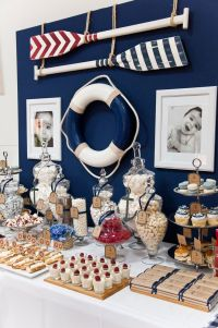 French Nautical | Styled By Coco | Party Ideas: Baby ...
