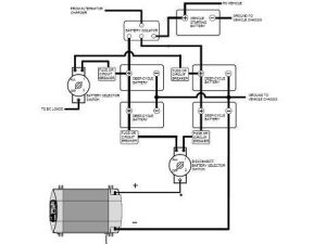 Example Wiring Diagram for Multiple Battery Cutoff