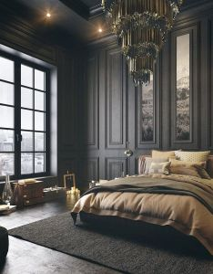 Gorgeous dark bedroom designs with minimalist and playful approach themes decor to inspire sweet dreams also rh ar pinterest