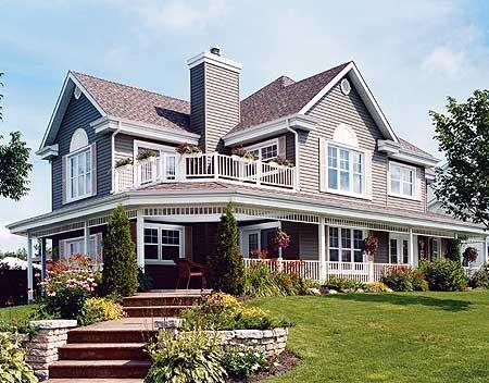 Plan 2118DR Wonderful Wrap Around Porch Wrap Around Porches