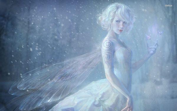 Beautiful Snow Fairies
