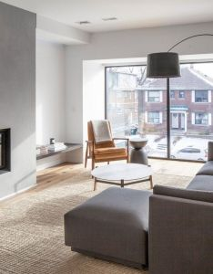 Articles about spacious toronto triplex responds rising urban density dwell is  platform for anyone to write design and architecture also superb living room you feel the wilderness straight from rh pinterest
