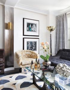 Post war gramercy apartment with mod interiors luxesource luxe magazine the luxury also sitting room inside home of ingaru benstein transformed by rh pinterest
