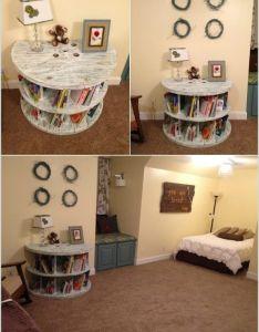 cool diy bookcase ideas that won   break the bank also bookcases rh pinterest