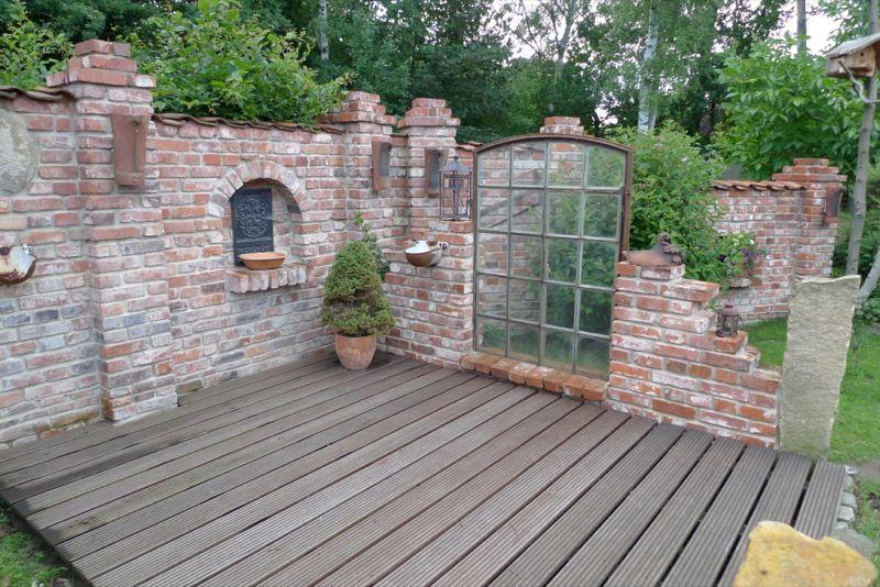 sichtschutz garten holz stein gartenhaus bauen gartengestaltung, Garten und erstellen