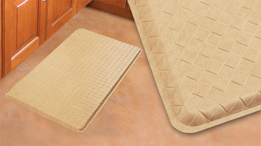 kitchen mats gel exhaust fans for kitchens gelpro basketweave coquina filled comfort floor and