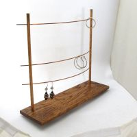 The Triple Bar Earring Display Holder - Jewelry Display ...