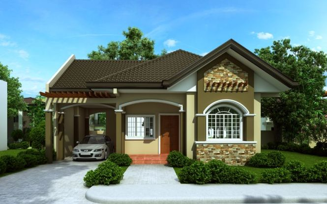 Bungalow House Designs Series Php 2016016 Is A 3 Bedroom Floor Plan With