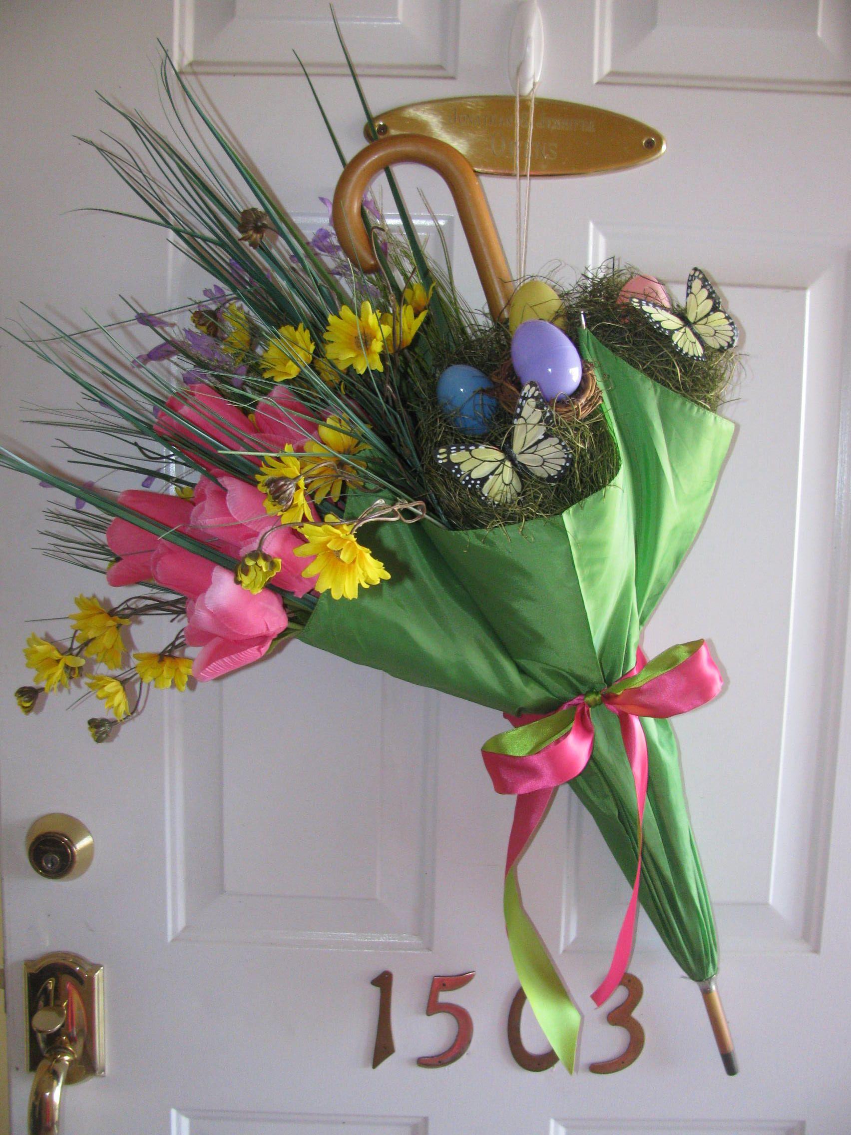 Spring/Easter Front Door Decor