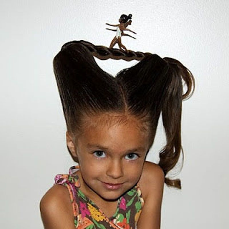 Fun Idea For Crazy Hair Day At School! Babesinhairland Com