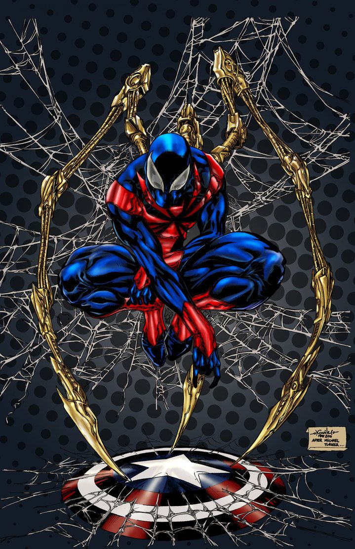 #iron Spider #fan #art (spiderman Color) By Spiderguile