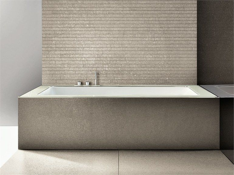 Undermount Bath Stone Surround Bathrooms Pinterest