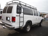 2011 E 350 extended 4X4 - QuadVan with Aluminess roof rack ...