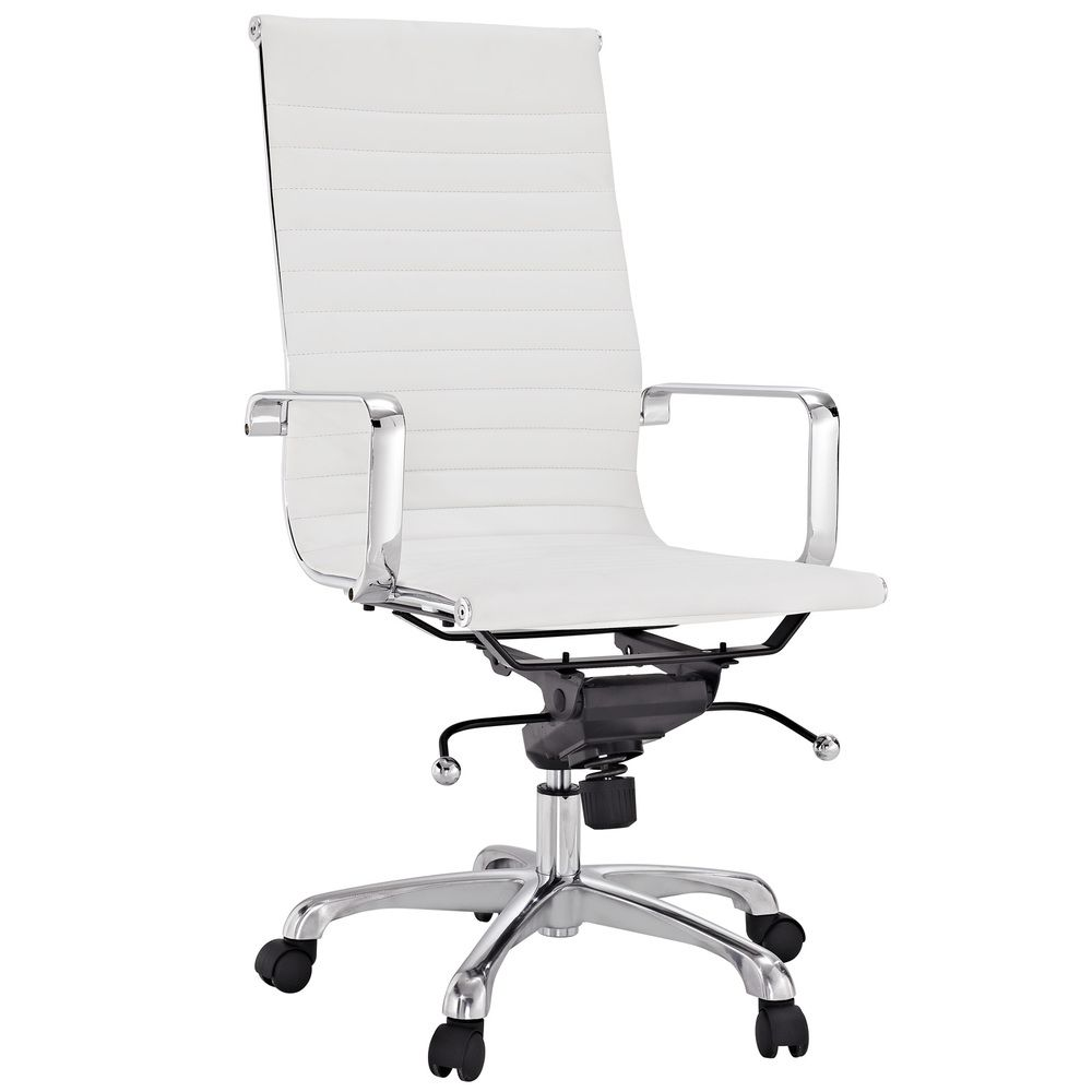Realspace Fosner High Back Bonded Leather Chair Best Of White Vinyl Office Chair Officeendtable Design