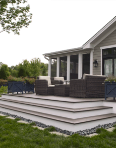tips for  better deck turn your into the ultimate outdoor gathering space with these building design and decor also mediumg pixels landscaping pinterest decking rh