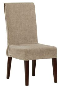 Shorty Dining Chair Slipcover | Dining chair slipcovers ...
