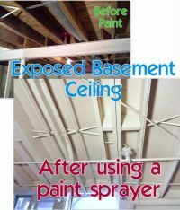 Tips for Painting an Exposed Basement Ceiling | Basement ...