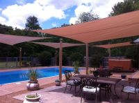 Outdoor Sun Shade Sails | Outdoor Structures | Pinterest ...