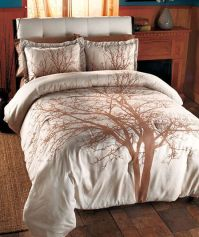 Nature comforter sets queen | Home  HOME  Winter Tree ...
