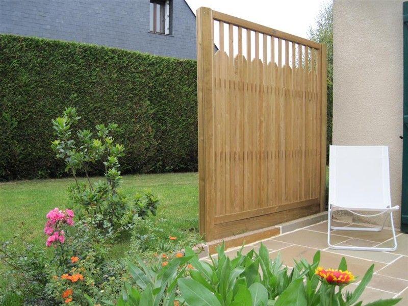 Paliframe Fence Panel Used A Garden Screen #contemporary Garden
