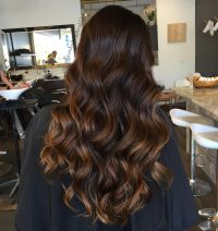 Caramel Highlights On Black Hairs 60 Balayage Hair Color